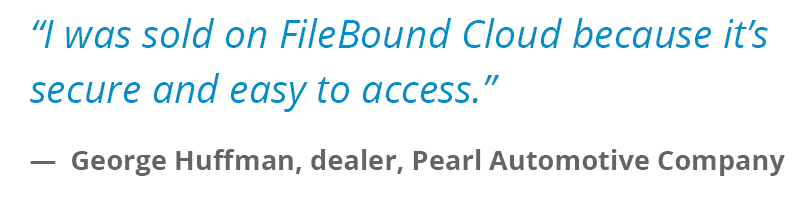 FileBound Automotive Testimonial