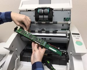 ECM scanner repair